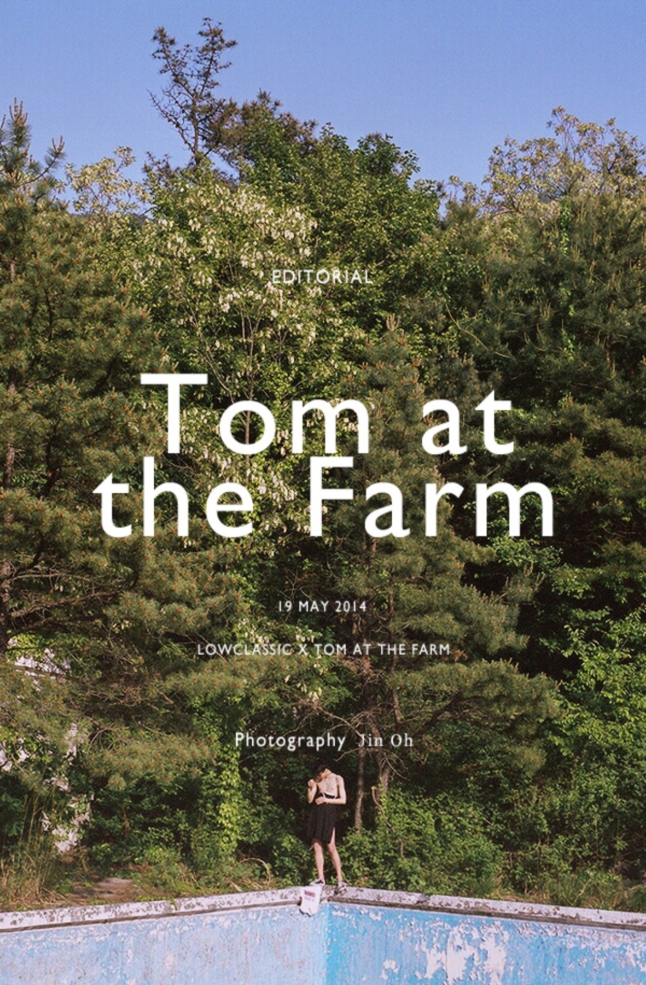 LOW CLASSIC X Tom at the farm