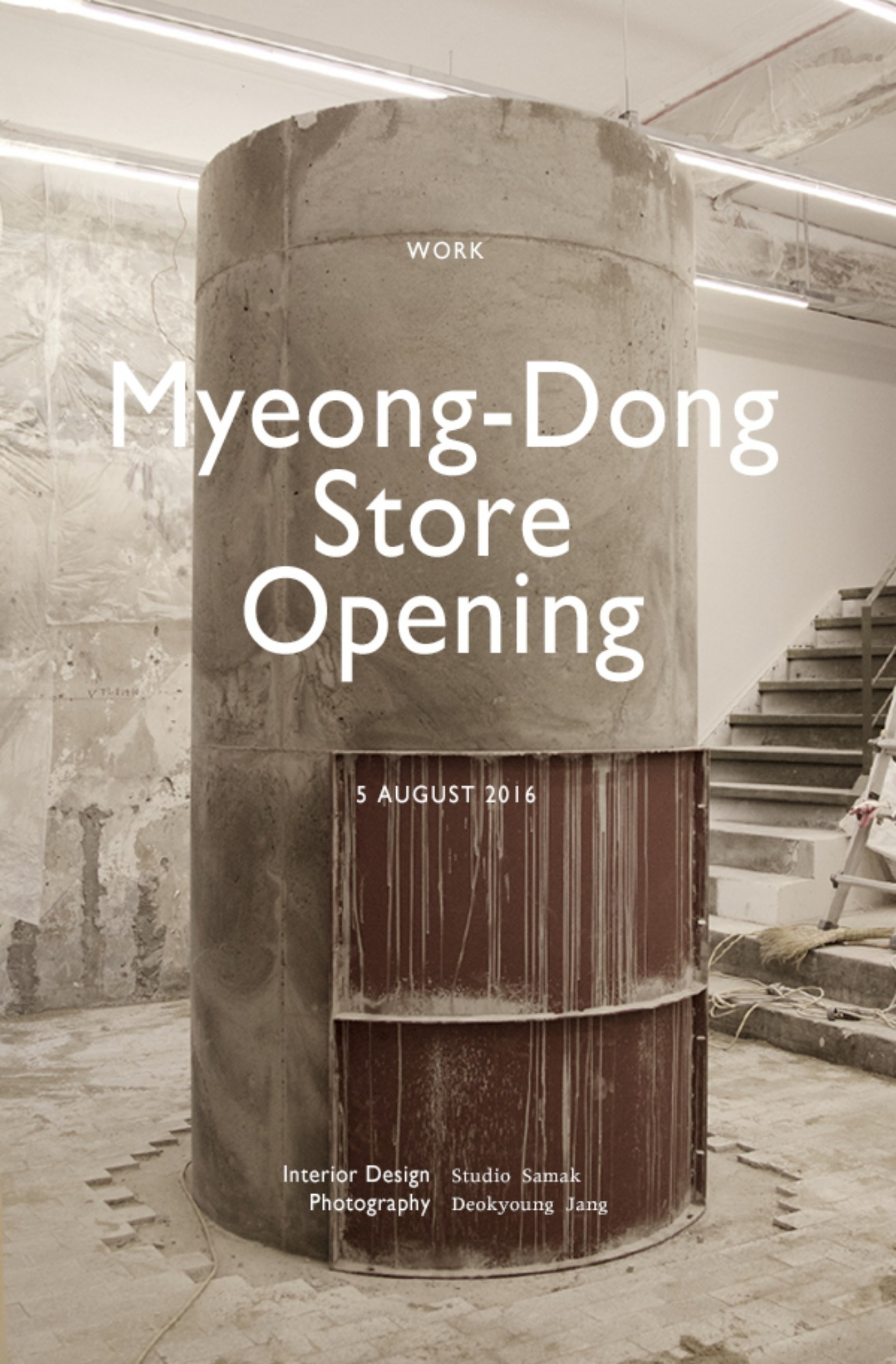 Myeong-Dong Store Opening