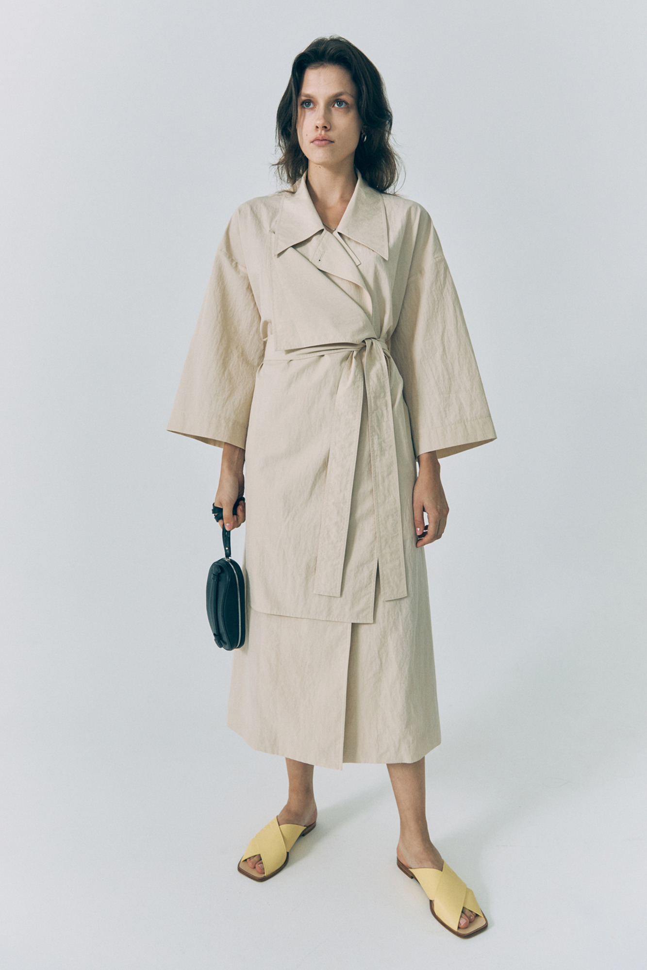 20SS 2-WAY TRENCH COAT - BEIGE