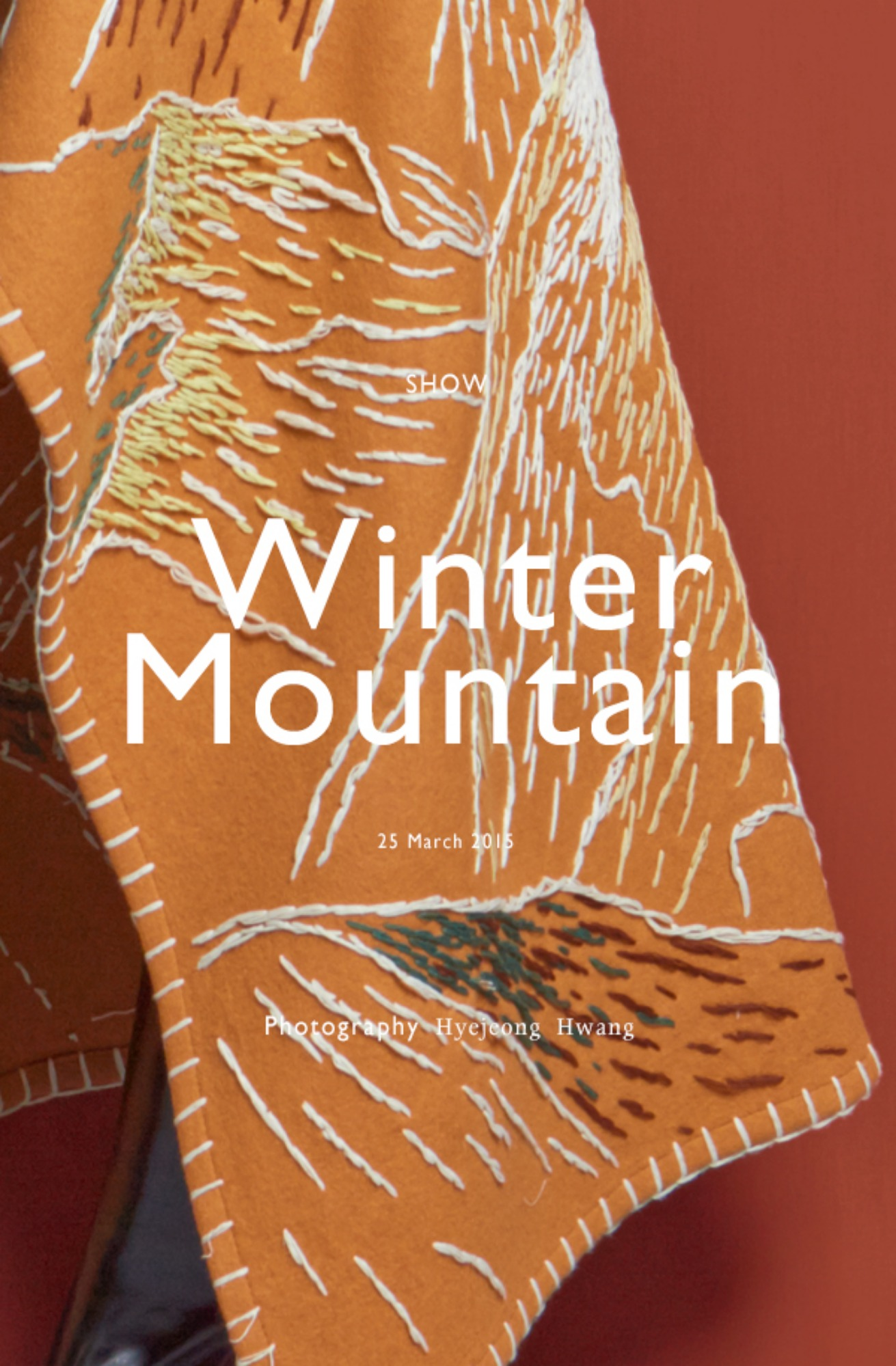 15FW Collection LOW CLASSIC 'Winter Mountain'