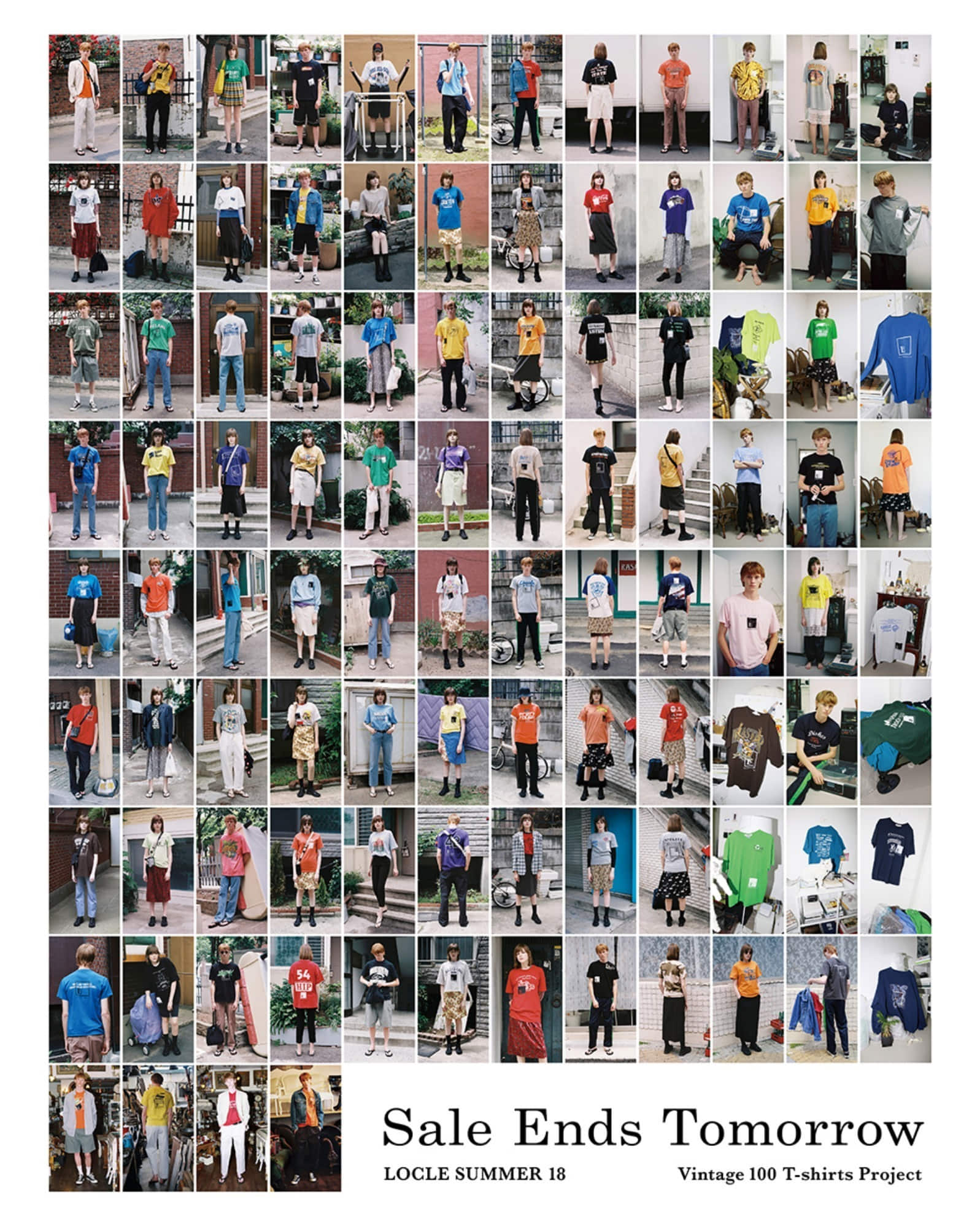 Summer 2018 LOCLE Vintage 100 T-shirts